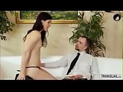 TBabe Stefani loves bigcock banging her