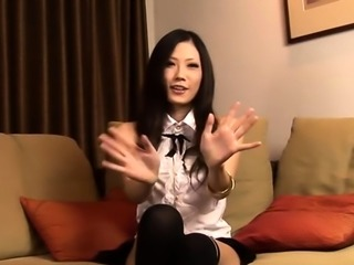Chopper hammers staggering exotic darling Yui Komine's cunny