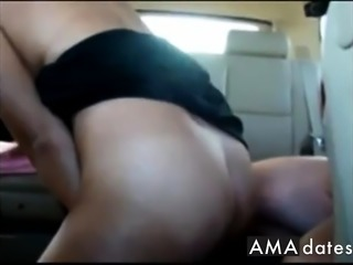 Girl Fucking in Cabela's Parking Lot