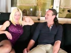 GERMAN MILF Nadja Summer at AO USER-DATE with BIG DICK GUY