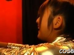 Fresh oriental Chiharu Nakasaki getting penetrated
