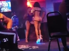 Lap dance of strippers
