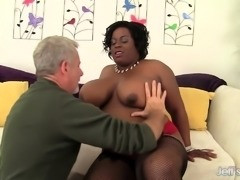 Pounding Black Plumper Marliese Morgan