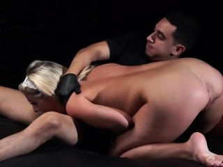 Public disgrace bondage and rough slave Back in Bruno's