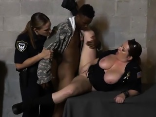 Blonde blue eyes milf and brunette tiny tits Fake Soldier