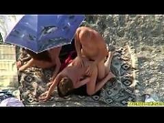 Swinger Horny Milfs Having Fun AT The Beach Spy Voyeur Cam