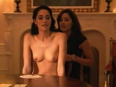 Sandrine Holt & Rachel Shelley Nude Lesbians - ScandalPlanet