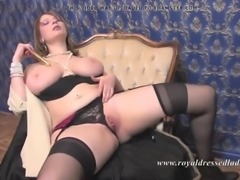 Royal dressed ladies valium 3 fully clothed fur sex