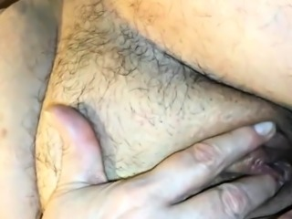 Homemade video - granny clitoris massage and loud orgasm