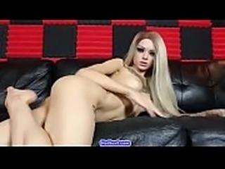 Sexy Amazing Redhead Busty Teen Camgirl Posing On Webcam