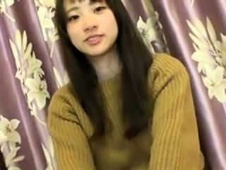 Fascinating Japanese teen knows her way around a meat pole