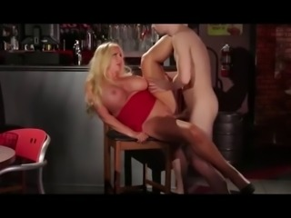 Old prostitute milf try humiliation by son