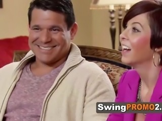 Amateur swingers opening up to the camera in national reality show. new episodes of swingpromo2
