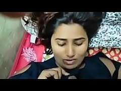 Swathi naidu giving handjob and blow job on bed