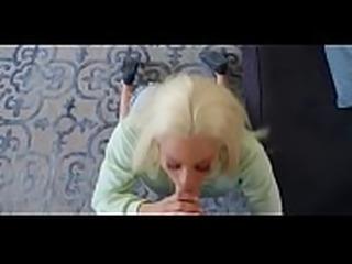 Busty blonde bombshell Luna Star fucks her fan