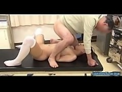 Jav Idol Takami Haruka Fucked By Veteran Porn Guy On Surgery Table In...