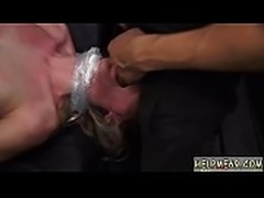 Teen rimming guy and strap on anal bondage Poor Callie Calypso.