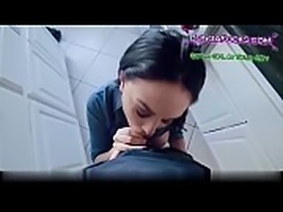 submissive teen girlfriend taking cum directly down her throat