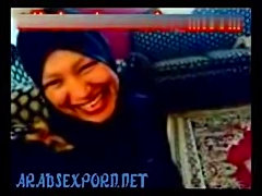 Arab sex hijab 3some