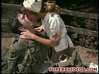 Terra part horny nurse rides militar cock  free