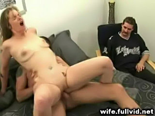 Watching His Wife Fuck free