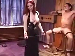 Mom Punishes Cock