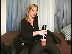 Fleshlight, mistress and her slave free