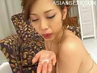 Miho MaeshimaLovely Asian babe gives amazing head free
