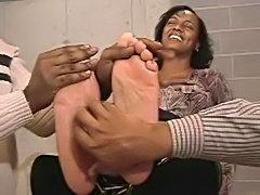 Tickling Size12 Ebony Soles free
