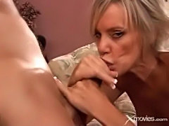 This blonde milf is really hungry for cock - xmovies  free