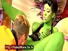 Green Alien Pussy