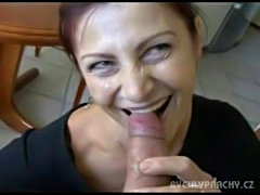Mature mom picked up on the street  free