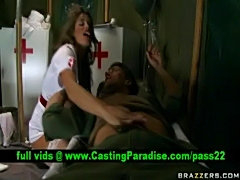 Madelyn marie, busty nurse blowjobs huge cock  free