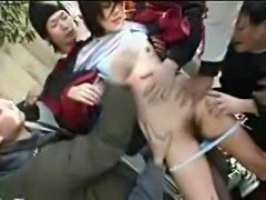 Newspapergirl rape in the street Part 1