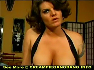 White trash creampie gangbang  free