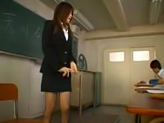 Starring Ruru Amakawa as a teacher. BJ, straight sex & bukakes from her students.