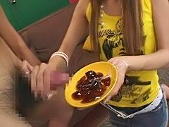 Cum on food - japanese jelly  free