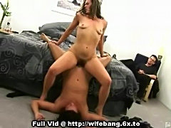 Watching wife get banged  free