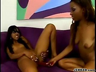 Kapri Styles and Tina Price Dildofucks Each Others Pussies - free
