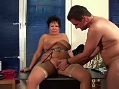 Mature Secretary Gets the Job Done