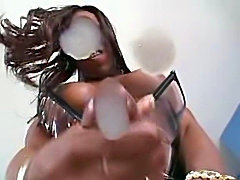 'BLACK' SHEMALE CUMSHOTZ 2