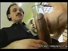 Crazy Couple Humiliating Bitch! free
