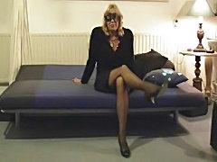 Mature milf mom hairy vibrator stockings amateur - xHamster.com