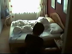 Mom masturbating