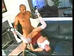Belle - young slut doing black guy  free