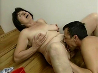 Boss Fuck Mature Maid