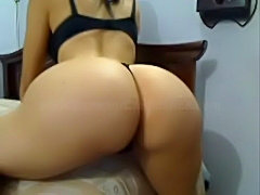 Sexy white slut with brunette hair shaking ass for boyfriend free