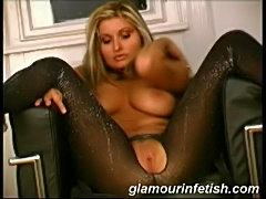 busty blonde in hotbodystockings