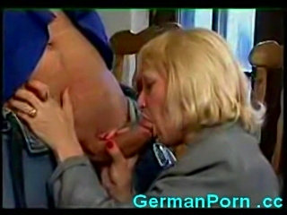 Horny german housewife fucks a big cock free