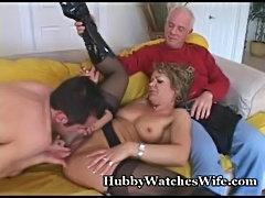 Hot mature fucks young cub  free